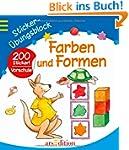 Sticker-�bungsblock Farben und Formen