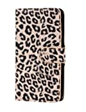 JBG Light Yellow Samsung Note 3 N9000 Fahsion Leopard Grain PU Leather Flip Wallet Stand Cover With Credit Card Slots Case for Samsung Galaxy Note 3 III N9000