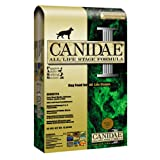 "Canidae Dry Dog Food for All Life Stages, Chicken, Turkey, Lamb, and Fish, 30-Pound (Misc.) By CANIDAE          Buy new: $42.99 2 used and new from $41.49     Customer Rating:       First tagged ""dogs food"" by BeagleGrin"