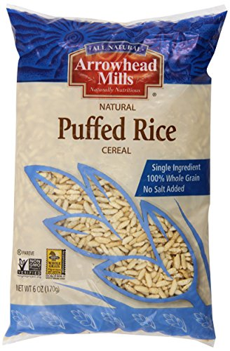 Arrowhead Mills Rice Cereal, Puffed, 6 Ounce (Gmo Free Rice Cereal compare prices)
