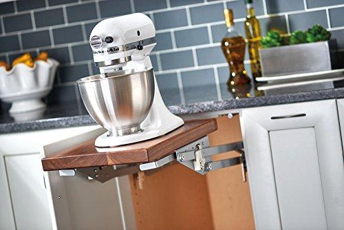 Rev-A-Shelf RAS-ML-HDSC Appliance Lift with Soft-Close Mechanism, Chrome (Appliance Lift Mechanism compare prices)