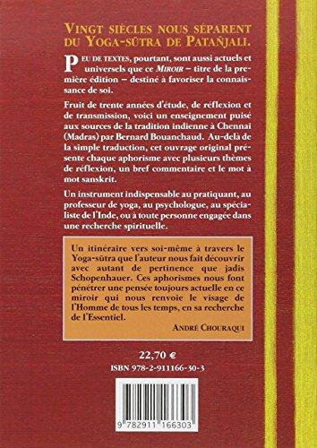 Libro yoga sutra de patanjali miroir de soi di bernard for Bernard werber le miroir de cassandre