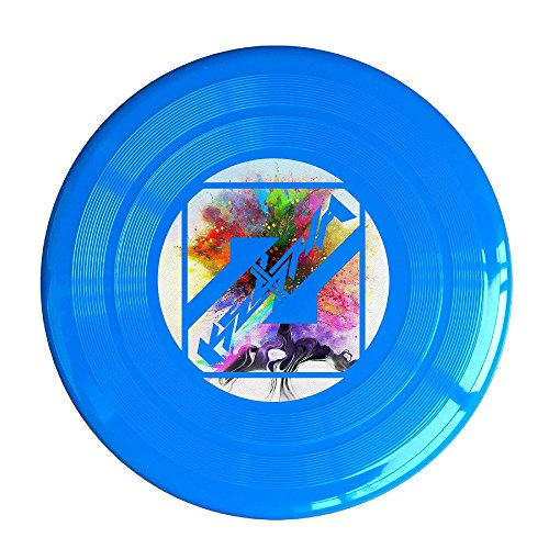 YQUE56 Unisex True Music Colors Poster 3 Outdoor Game Frisbee Light Up Flying RoyalBlue