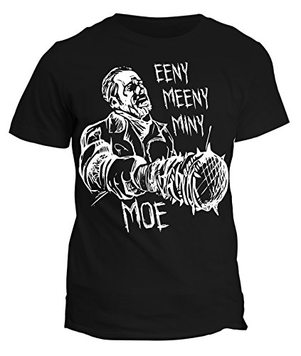 Tshirt Negan CONTA EENY MEENY MINY LUCILLE - in cotone by Fashwork