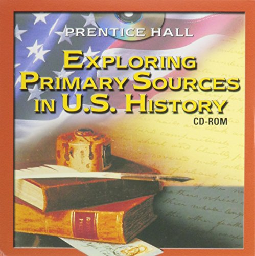EXPLORING PRIMARY SOURCES IN UNTIED STATES HISTORY CD ROM 2003