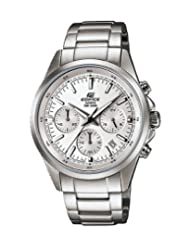 Casio Edifice Analog White Dial Men's Watch EFR-527D-7AVUDF