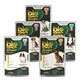 Farnam Bio Spot Defense Spot On Flea & Tick Control - For Toy Dogs 6-12 Lbs (6 Month Supply)