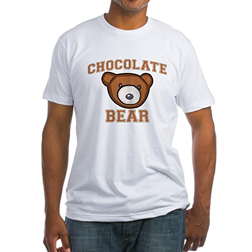 chocolate-bear-brown-nice-cool-funny-food-cute-exclusive-quality-t-shirt-for-herren-xs-shirt
