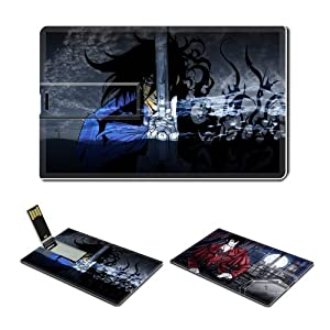 4GB USB Flash Drive USB 2.0 Memory Credit Card Size Anime Hellsing Comic Game Customized Support Services Ready Alucard-017