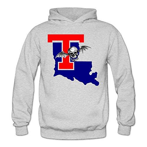 Cool Louisiana Tech University T Avenged Women's Long Sleeve Hoodies XL Ash