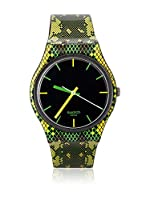 Swatch Reloj de cuarzo Unisex SNAKY GREEN GB253 34 mm