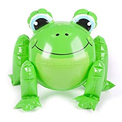1 Frog Beach Ball Inflate Approx. 12 Before Inflation New