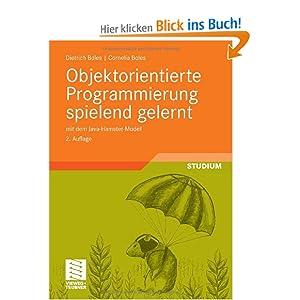eBook Cover für  Objektorientierte Programmierung spielend gelernt mit dem Java Hamster Modell