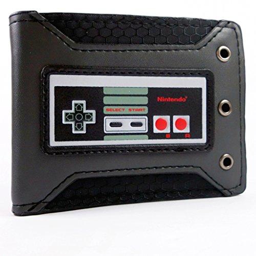 Nintendo NES Studded Nero portafoglio