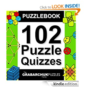 FREE KINDLE BOOK: Puzzlebook: 102 Puzzle Quizzes