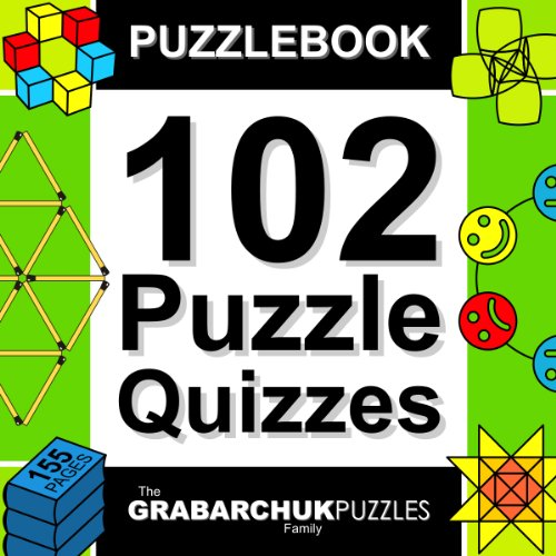 Puzzlebook: 102 Puzzle Quizzes (color and interactive!)