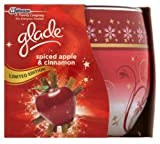 Glade Spiced Apple & Cinnamon Limited Edition Scented Candle 120g - 30 Hours