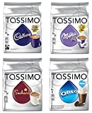 Tassimo Hot Chocolate Mega Pack - Cadbury, Oreo, Milka,...