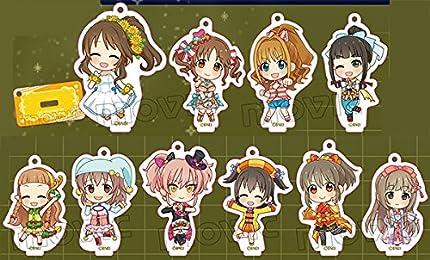 アイドルマスター シンデレラガールズ (C)パッション スタキー BOX商品 1BOX = 10個入り、全10種類