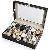 Readaeer® 腕時計収納ケース 腕時計収納ボックス コレクションケース 12本用