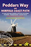 Peddars Way and Norfolk Coast Path: Knettishall Heath to Cromer (British Walking Guides), Planning, Places to Stay, Places to Eat Alexander Stewart