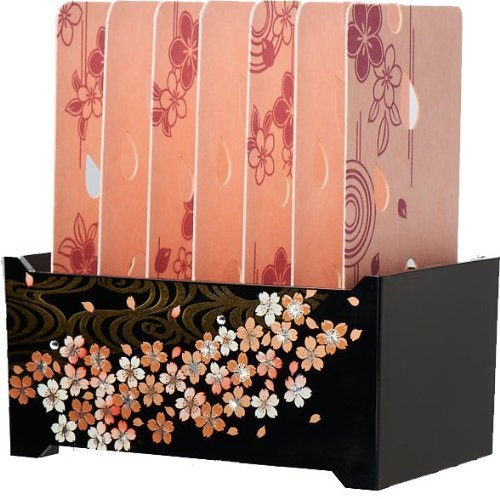 Miyachi Room Mists Moiscard/ Motif : Peach Flower/ Case : Cherry River - 1