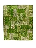 Eden Carpets Alfombra Pacthwork Verde 149 x 257 cm
