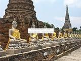 PHOTOGRAPHY LANDMARK AYUTTHAYA TEMPLE BANGKOK THAILAND 30x40 cms POSTER PRINT BMP11288
