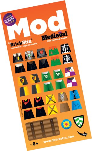 MEDIEVAL MOD STIX - Reusable Stickers for your Bricks