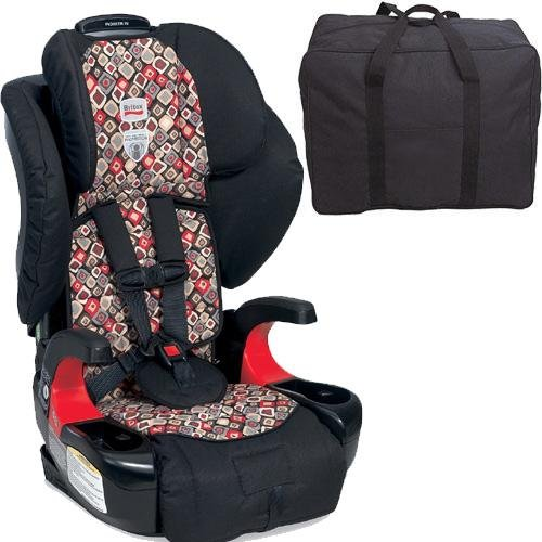 Britax E9Lh43Wkt Pioneer 70 Harness-2-Booster Car Seat - Redwood With Carrying Case front-3079