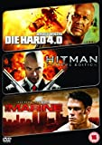 Die Hard 4.0/Hitman/The Marine [DVD]