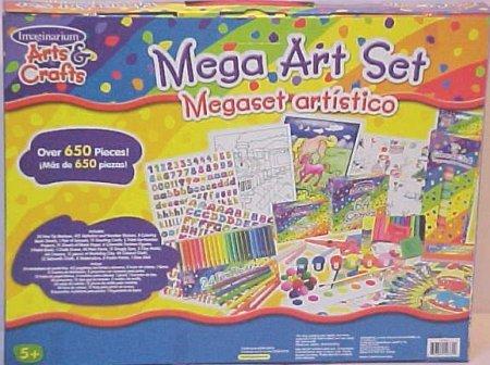 Imaginarium Arts&crafts Mega Art Set Over 650 Pieces - Buy Imaginarium Arts&crafts Mega Art Set Over 650 Pieces - Purchase Imaginarium Arts&crafts Mega Art Set Over 650 Pieces (Imaginarium, Toys & Games,Categories,Arts & Crafts,Craft Kits)