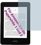 4x Amazon Kindle Paperwhite 2  ENTSPIEGELNDE Displayschutzfolie Bildschirmschutzfolie von 4ProTec - Nahezu blendfreie Antireflexfolie