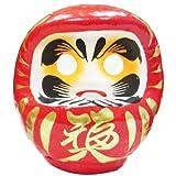 赤張子だるま 4号(1個)  / お楽しみグッズ(紙風船)付きセット