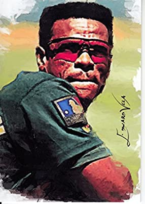 Rickey Henderson #7 - #14/25 - VERY RARE! - HALL OF FAME - Oakland Athletics - Limited Edition Original Artwork Sketch Card