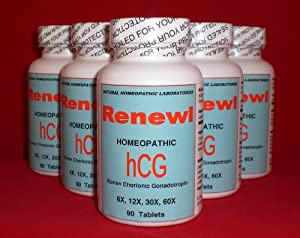 3 Bottles Hcg Diet Pills Dr Simeon Natural Hcg Alternative Hormone Free 3 Month Supply - 270 Pills by NHLABS