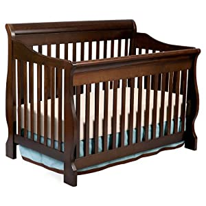 Delta Canton 4-in-1 Convertible Crib, Espresso Cherry from Delta Enterprise Corp