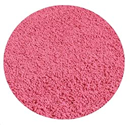 Dusty Pink Rose - 5\' ROUND Custom Carpet Area Rug