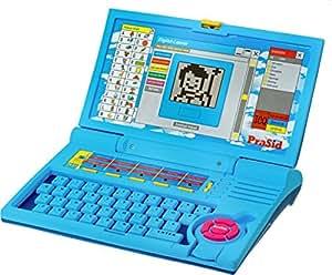 PraSid Kids English Learner Computer Toy Educational Laptop BlueBabyBlue