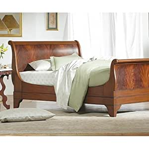 Amazon Chambord Flame Mahogany Sleigh Bed By Charles