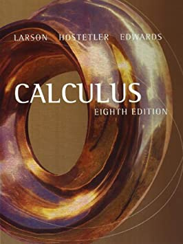 Calculus (With Analytic Geometry)(8th edition)