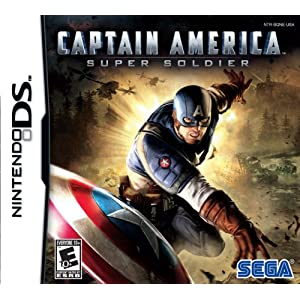 Captain America: Super Soldier Video Game for Nintendo DS
