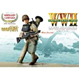 """WWII Omaha Beach 1944 U.S. Army Infantryman 29th Infantry Division Private Mike Connolly 12"""" Action Figure Set (Road to Victory Normandy Campaign)"""