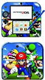 Super Mario 3D World Game Skin for Nintendo 2DS Console