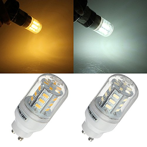 Gu10 7W 24 Led 5730Smd Warm White Corn Light Lamp Bulb 110V