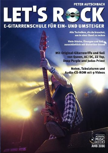 Cover Let's Rock Gitarrenschule