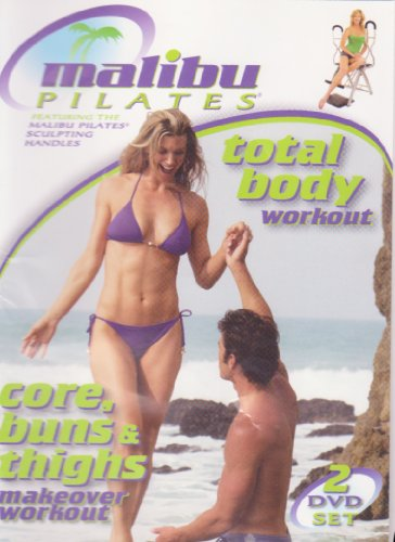 Malibu Pilates - Total Body Workout / Core, Buns & Thighs Makeover Workout 2-Dvd Set front-1008507