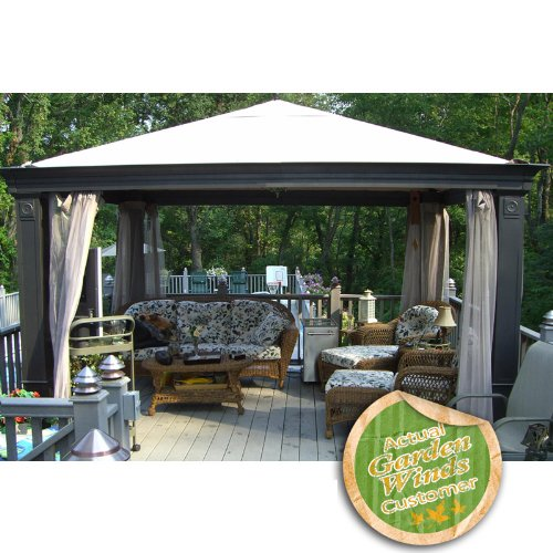 Backyard Canopy Gazebo :  Canopy (Series 0)  BEIGE  Outdoor Canopies  Patio and Furniture