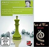 "The Sicilian Tajmanov-Scheveningen & ChessCentral's ""Art of War"" E-Book: (2 Item Bundle)"