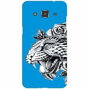 Samsung Galaxy j2 Back Cover - Silicon Animal Print Designer Cases